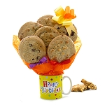 Birthday Coffee Mug Cookie Bouquet