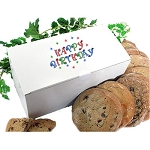 Birthday Cookie Gift Box  - 12 Gourmet Cookies