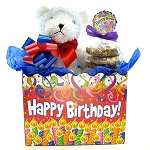 Birthday Teddy Bear Cookie Bouquet