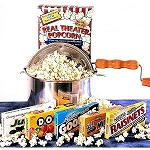 Matinee Idol Movie Gift Basket Popcorn Popper