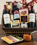 Cabernet and Cheese Picnic Gift Basket