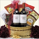 CHILEAN RED DUET: WINE GIFT BASKET