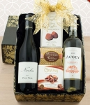 French Duo Wine Gift Basket