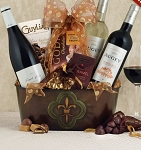 French Trio Wine Gift Basket