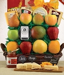 Fruit and Cheese Spectacular Gift Basket
