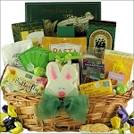 Grand Easter Wishes: Gourmet Gift Basket