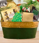 Jolly Christmas Gourmet Gift Basket