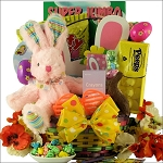 Hoppin' Easter Fun - Girl: Child's Easter Basket Ages 3 to 5 Years Old