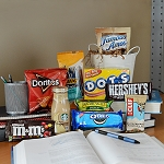 Midterm and Finals College Student Care Package with Starbucks