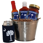 South Carolina Palmetto Moon Tailgate Grilling Gift Basket