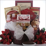 Peace & Tranquility: Spa Holiday Christmas Gift Basket