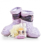 Relaxation Booties with Lavender - Spa Booties