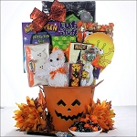 Spooky Sweets & Treats: Halloween Gift Basket for Kids ~ Ages 3 to 8