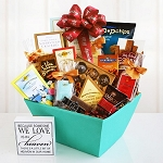 Sweet Sympathy and Remembrance Gift Basket