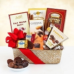 Valentine Chocolate Delight Gift Basket