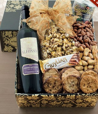 Chilean Red Gift Basket
