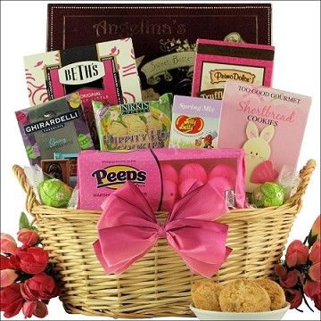Delightful Easter Sweets: Chocolate & Sweets Gift Basket