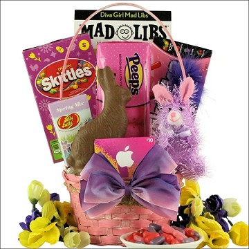 Easter Diva: Easter Gift Basket Tween Girl Ages 10 to 13 Years Old