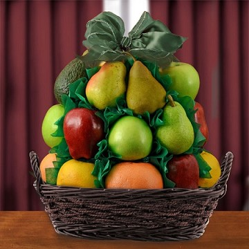 Fancy Fruits Gift Basket