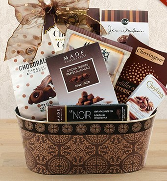 Snacks and Sweets Gourmet Basket