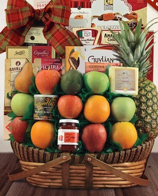 Sutton Place with Fruit Gift Basket