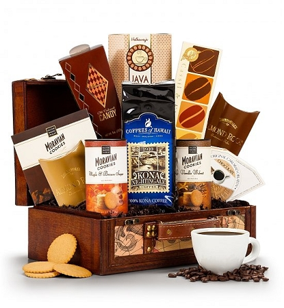 Coffee and Tea Gift Baskets