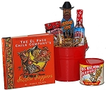 Kick Ass Hot Sauce Bucket Gift Basket