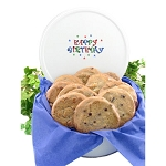 Birthday Cookie 3lb Cookie Tin - 12 Gourmet Cookies