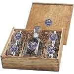College Capitol Decanter Box Set