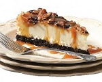 Chocolate Caramel Pecan Turtle Cheesecake