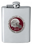 The Florida State 2013 Football National Champions Flask