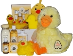 Grand Lucky Ducky Baby Spa Gift Basket