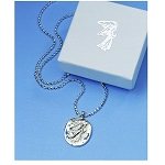 Guardian Angel Sterling Silver Pendant