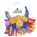 Birthday Cookie Gift Tin of Goodies