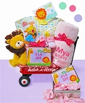 Jungle Jamboree Baby Girl Wagon