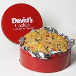 Fresh Baked M&M  Cookies 2 lb. Tin