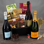 Champagne & Truffles: Gourmet Champagne Gift Basket