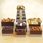 Decadent Chocolate Gift Tower