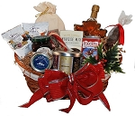 Deluxe Christmas Morn Breakfast Basket