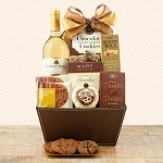 Moscato White WIne & Chocolate Gift Basket