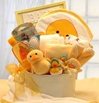 Bath Time Baby New Baby Basket