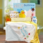 Unisex Bath Time Gift Basket