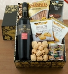 Cab Sauv and Gourmet Gift Basket