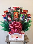 Santa Special Candy Gift Basket Bouquet