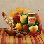 Fruit Cornucopia Gift Basket