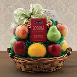 Nine Pieces of Fruit Gift Basket