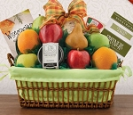 Fruit and Cheese Deluxe Basket