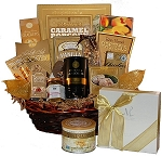 Golden Gourmet Gift Basket