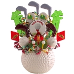 Golf Birthday Lollipop Bouquet