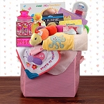 Grand Baby Girl Gift Basket